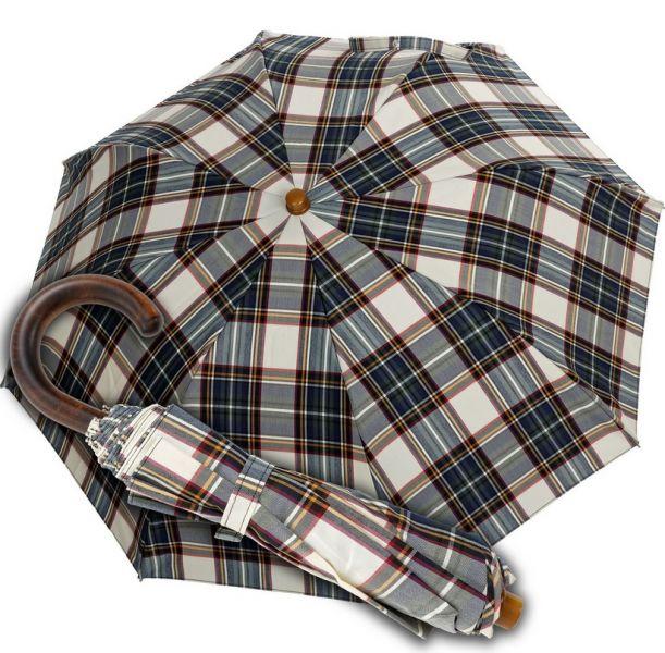1a1379a97 pánsky skladací dáždnik Oertel Handmade Tartan 1 | pánske skladacie ...
