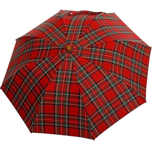 53ae154ac pánsky skladací dáždnik Oertel Handmade Tartan 2 | pánske skladacie ...