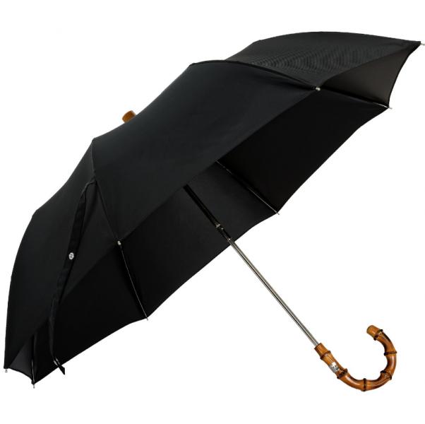 5af6ad0d0 pánsky skladací dáždnik Oertel Handmade s bambusovým madlom - pohlad 1 -  www.glancshop. pánsky ...