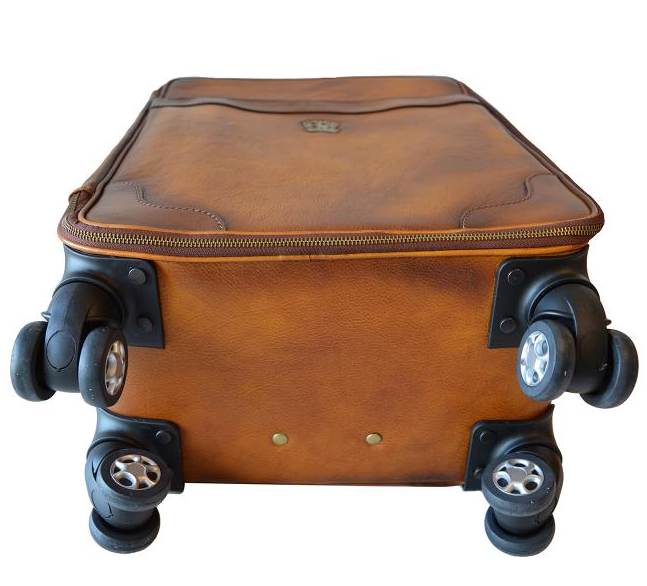 0de163faec141 ... cestovná taška s kolieskami Continental 1 - pohlad 2 - www.glancshop.sk  kožená ...