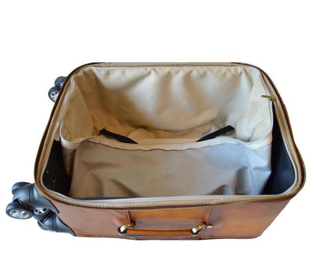 e669d3566686e kožená cestovná taška s kolieskami Continental 1 | kožené cestovné ...