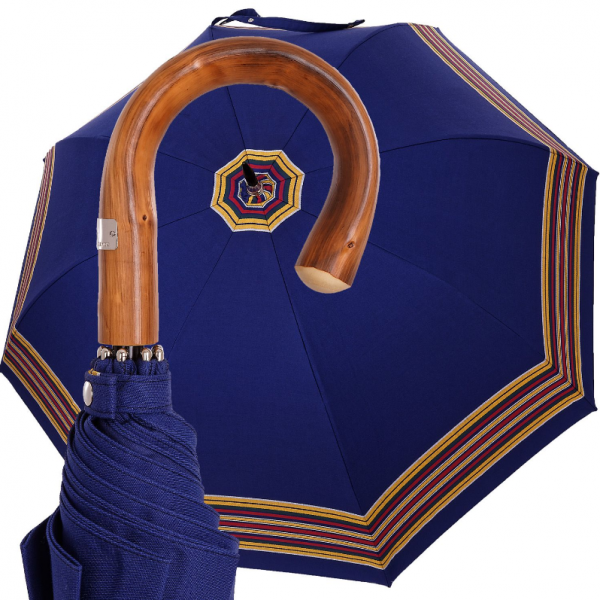 2f2d1dc11 pánsky dáždnik Oertel Handmade Šport Salzburg modrý - pohlad 1 -  www.glancshop.sk